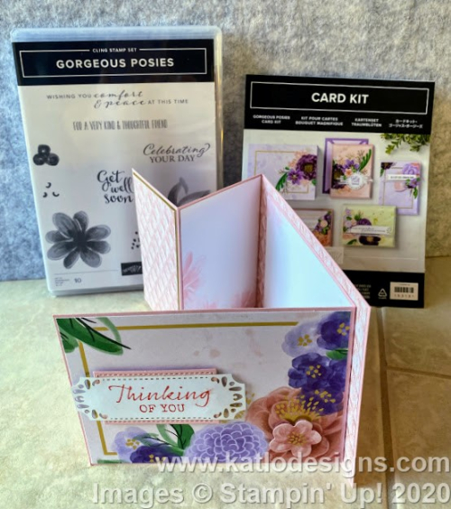Gorgeous Posie Stampin' Up cards (8)