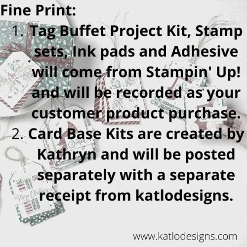 Tag Buffet Fine Print