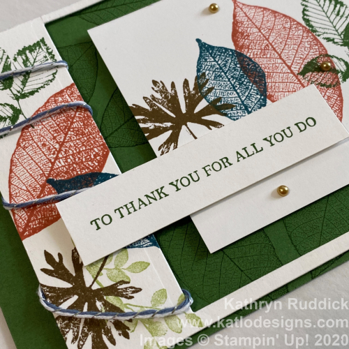 Rooted In Nature Stampin' Up (4)