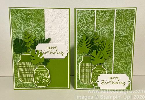 Boho Indigo Granny Apple Green cards