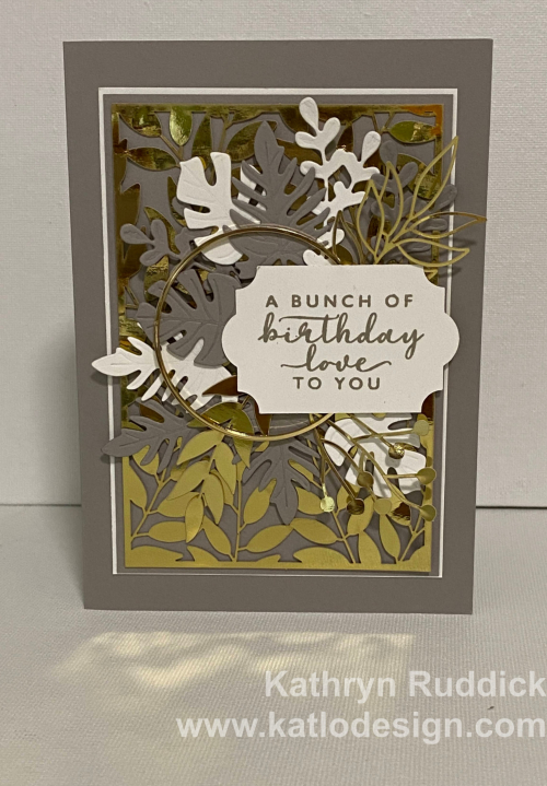 Boho Indigo in Gray Granite - Stampin Up (1)