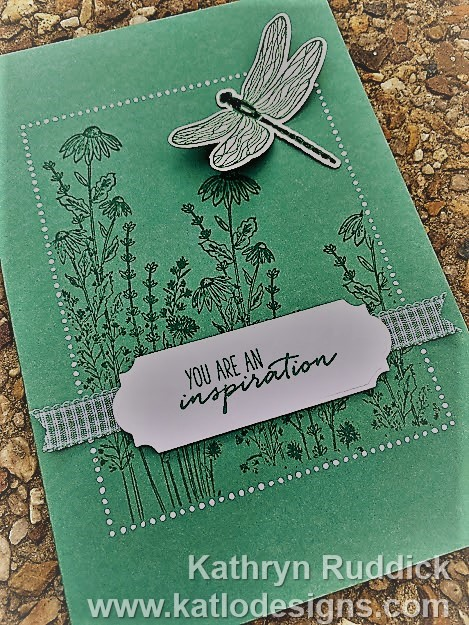 Dandy Garden Just Jade Stampin Up (4)