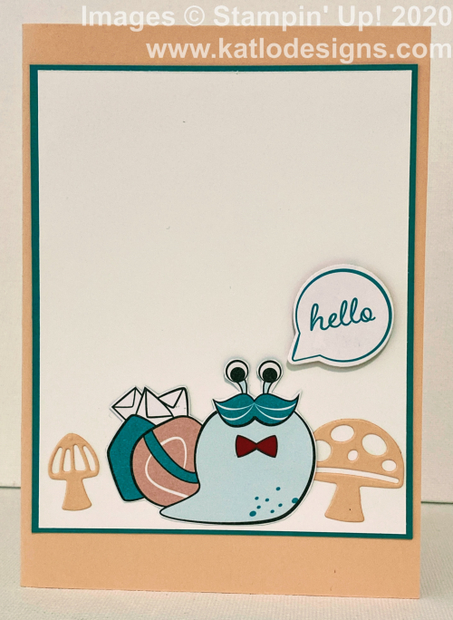 Snail Mail Stampin' Up cards (15)