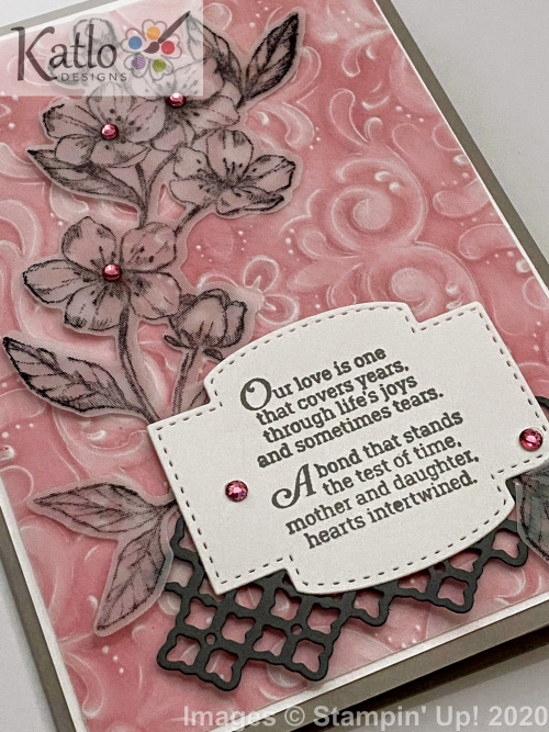 Parisian Blossoms Stampin Up (2)