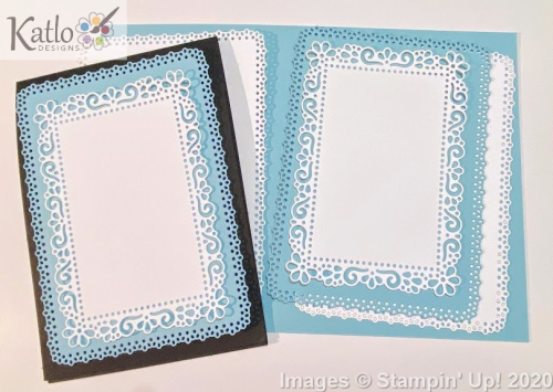Ornate Layer Dies Balmy Blue cards Stampin Up 5
