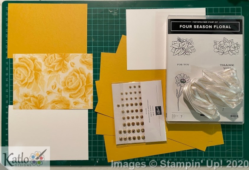Four Season Floral Stampin' Up Bumblebee (2)