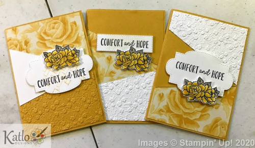 Four Season Floral Stampin' Up Bumblebee (1)