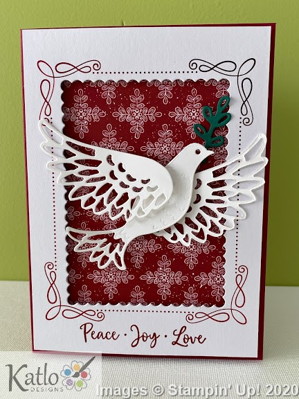 Dove of Hope Stampin' Up! cards (2)