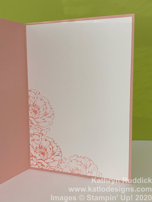 Prize Peony Stampin' Up cards (3)