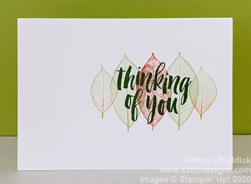 Rooted In Nature Stampin' Up (1)