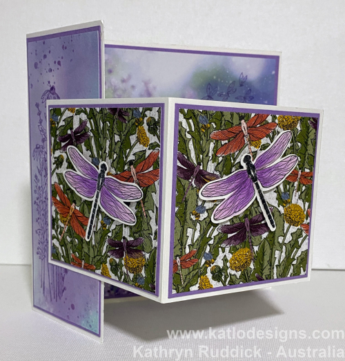Dandy Garden - Highland Heather Stampin' Up (2)