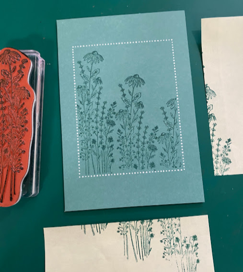 Dandy Garden Just Jade Stampin Up (5)