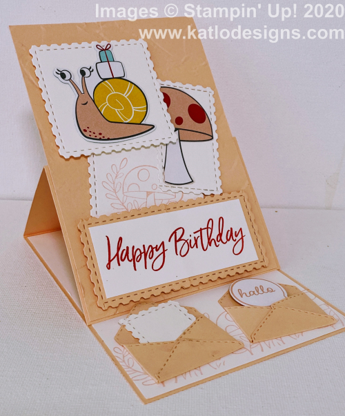 Snail Mail Stampin' Up! cards for the AWH Colour Creations Showcase Petal Pink