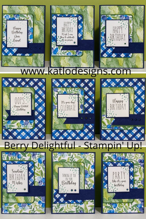 Berry Delightful - Stampin' Up