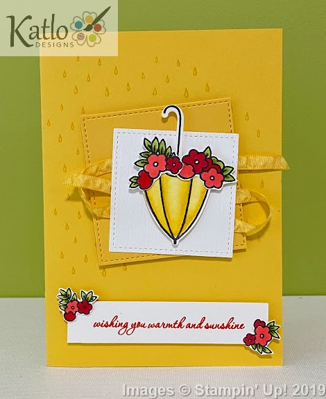 Under My Umbrella Stampin' Up cards (1)