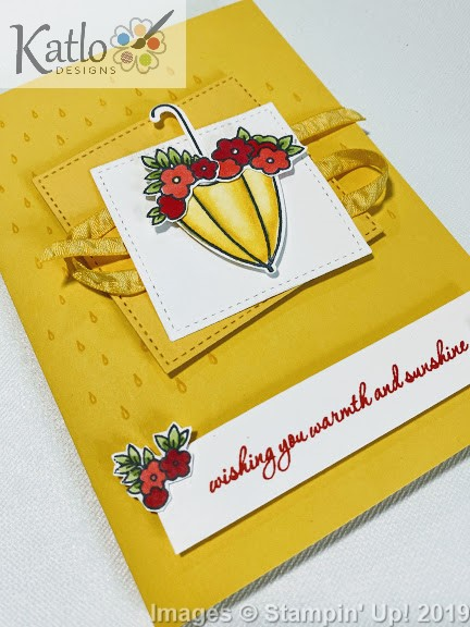 Under My Umbrella Stampin' Up cards (2)