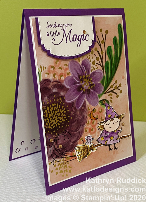 Gorgeous Posies Card Kit & Flight of Fancy Stampin Up (1)