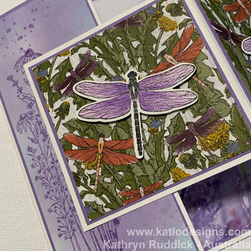 Dandy Garden - Highland Heather Stampin' Up (4)