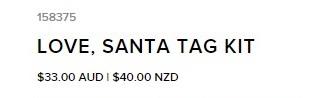 Love Santa Tags 2