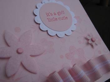 Pink Baby stuff c